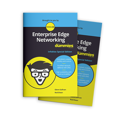 Get the Infoblox Enterprise Edge Networking for Dummies Guide